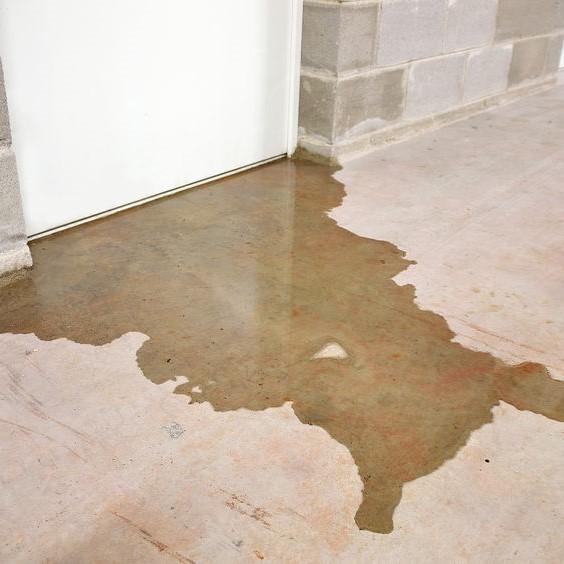 leak under a door