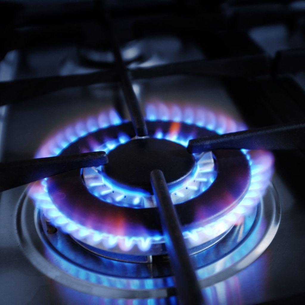 gas burner a light