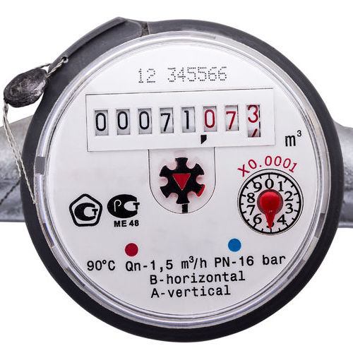 Check your water meter to detect leaks in your home.