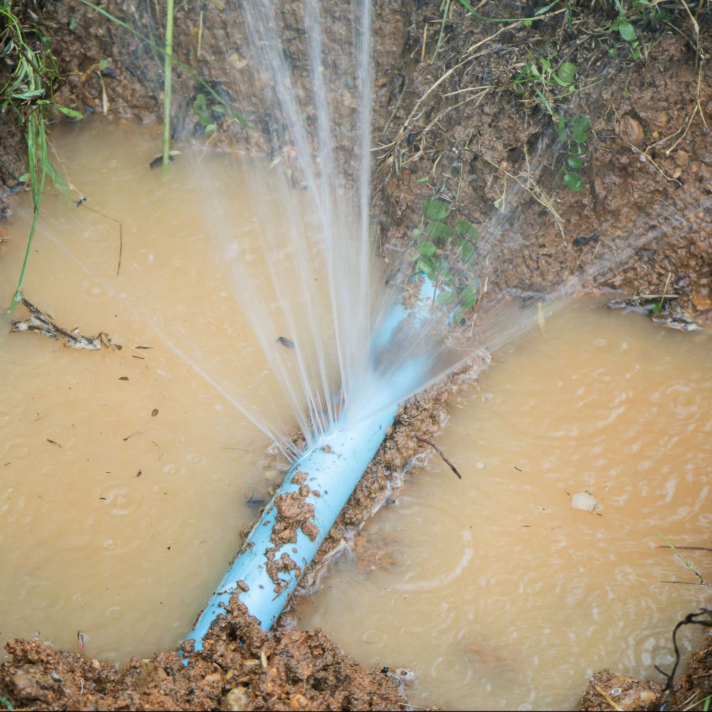 A Busted Water Line Can Cause Many Issues