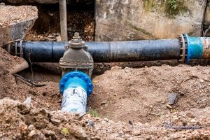 Backup Prevention System in a Sewer Line