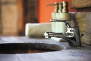 A Simplistic Bathroom Sink Faucet